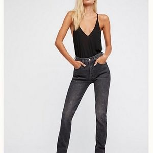 501 vintage black levis jeans faded black size 29